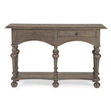 Belgian Oak Console Table by Bernhardt