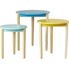 Keane 3 Piece Nesting Tables by Zipcode Design