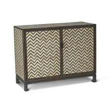 Tangier Herringbone 2 Drawer Chest by Brownstone Furniture