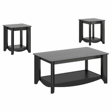 Wentworth 3 Piece Coffee Table Set by Latitude Run