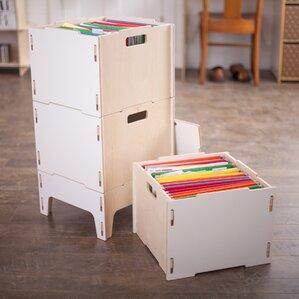 caja wooden filing cabinet