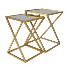 Hector 2 Piece Nesting Tables by Mercer41