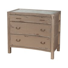 Tremblant 3 Drawer Accent Chest by August Grove