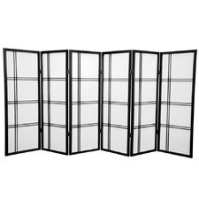 48 Boyer Screen 6 Panel Room Divider by Mistana