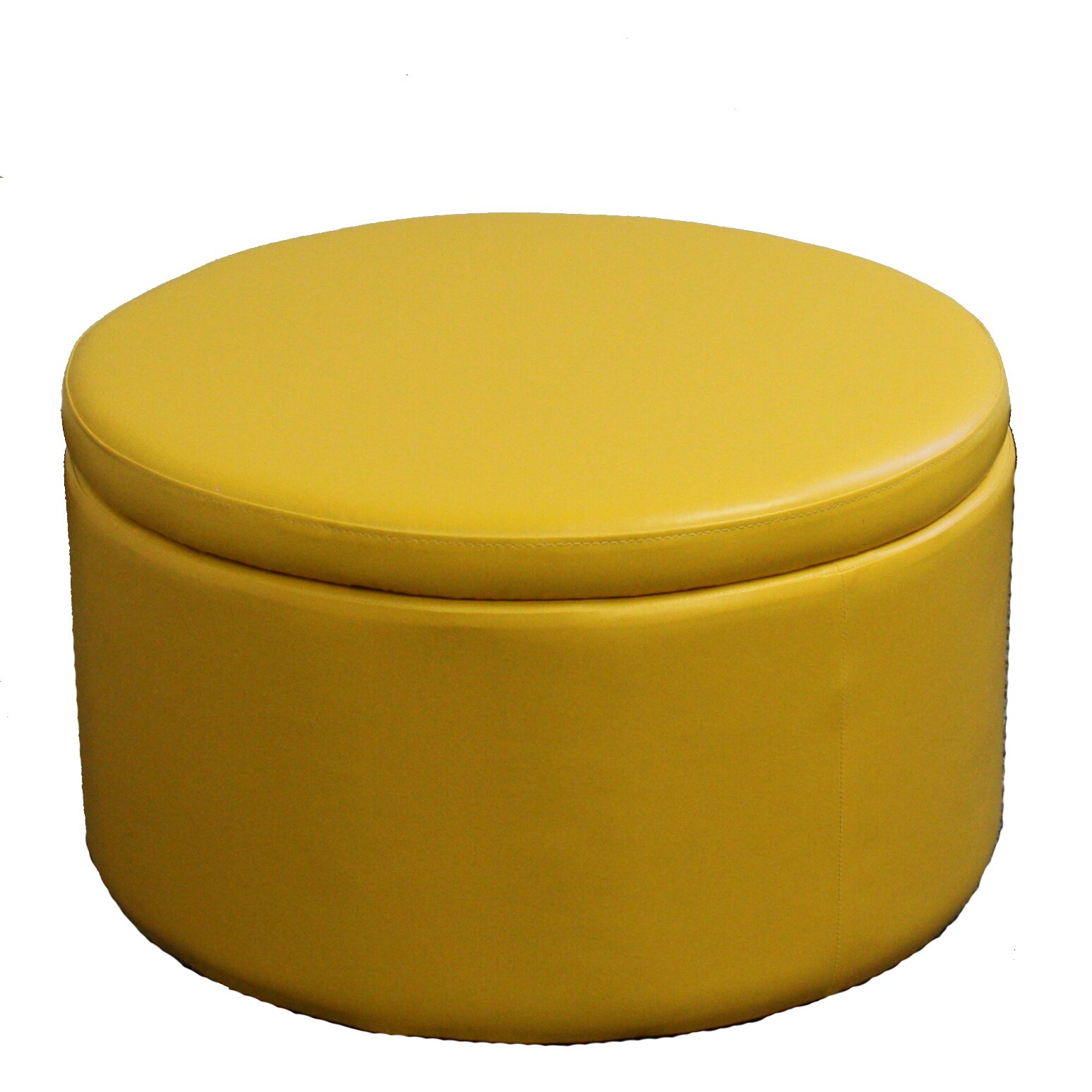Round Storage Ottoman with Seating - ORE Furniture Round Storage Ottoman With Seating & Reviews Wayfair