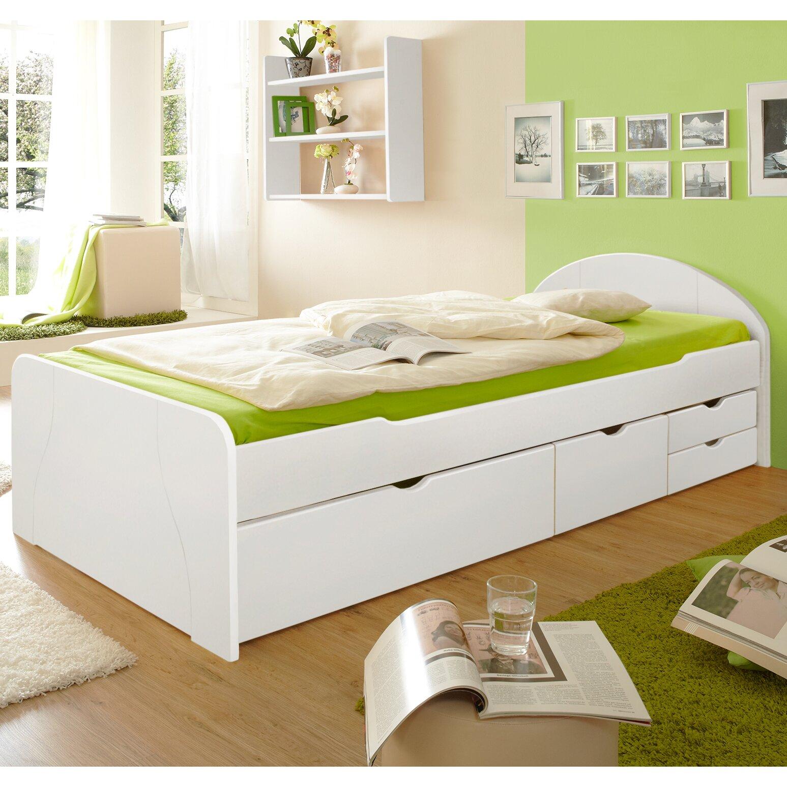ticaa funktionsbett edna mit schubladen bewertungen. Black Bedroom Furniture Sets. Home Design Ideas