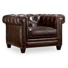 Imperial Regal Stationary Chesterfield Chair by Hooker Furniture