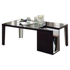 Zedd Coffee Table with Magazine Rack by Hokku Designs
