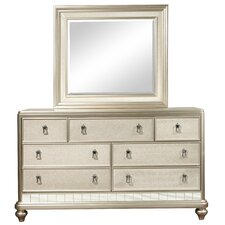 Desirat 7 Drawer Dresser with Mirror by Willa Arlo Interiors