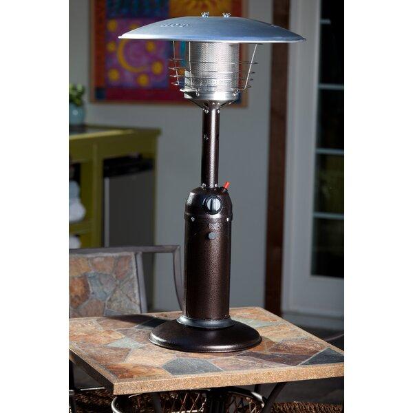 Fire Sense 10,000 BTU Propane Tabletop Patio Heater U0026 Reviews   Wayfair