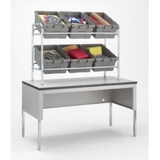 Table Top Tote Rack by Charnstrom