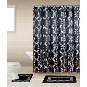 Geometric Shower Curtains Youll Love Wayfair