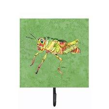Grasshopper on Avacado Leash Holder and Wall Hook by Caroline's Treasures