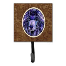 Poodle Leash Holder and Wall Hook by Caroline's Treasures