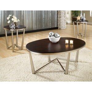 espresso coffee table sets you'll love | wayfair