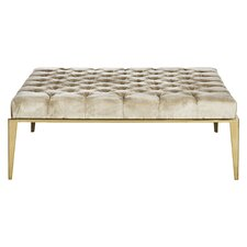 Bladwell Velvet Tufted Cocktail Ottoman by Willa Arlo Interiors