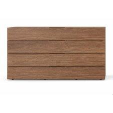 Spazio 4 Drawer Dresser by Pianca USA