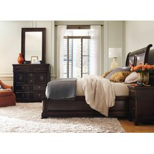 Pacific Canyon Sleigh Bed by Bernhardt