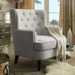 Chrisanna Wingback Chair by iNSTANT HOME