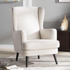Jasper Wingback Arm Chair by Corrigan Studio