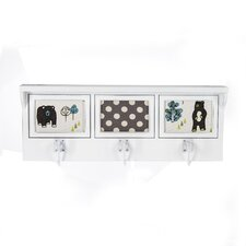 North Country Photo Wall Mounted Coat Rack by Glenna Jean