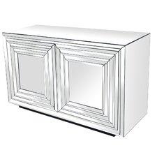 Brogel 2 Door Mirrored Cabinet by House of Hampton