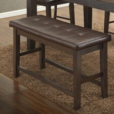 Faux leather Dining Bench by BestMasterFurniture
