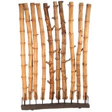 76 x 49 Bamboo Full Wall 1 Panel Room Divider by Ibolili