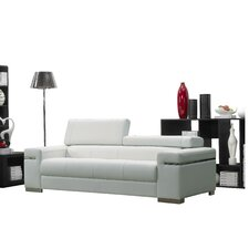 Mahurin Leather Sofa