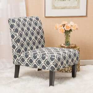 Bernardi Slipper Chair (Set of 2) by Mercury Row