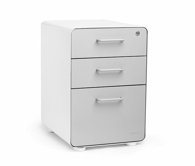 default_name - Poppin 3 Drawer File Cabinet & Reviews Wayfair