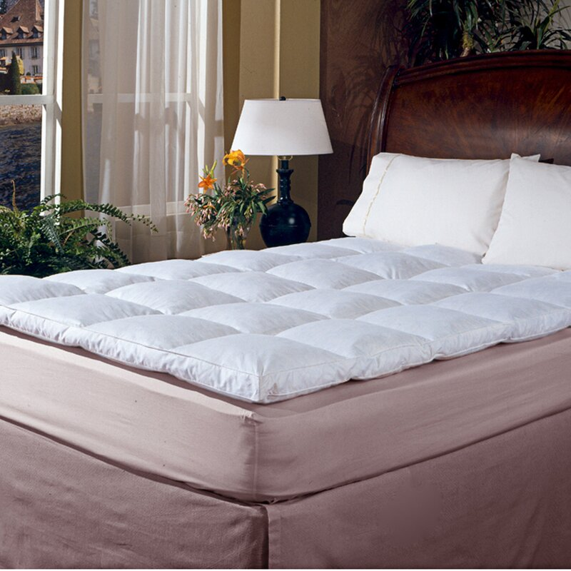defaultname blue ridge home fashion 233 thread count cotton cover featherbed