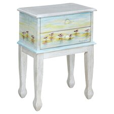 Shoreline Betsy's Sandpipers End Table
