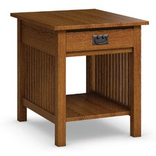 Mission Hills End Table With Drawer by Caravel