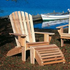Deluxe Cedar Adirondack Chair