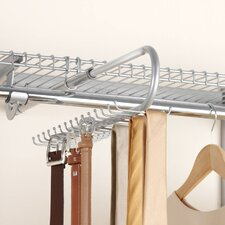 Configurations Closet Tie and Belt Organizer