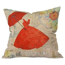 Irena Orlov Lady 1 Outdoor Throw Pillow by DENY Designs