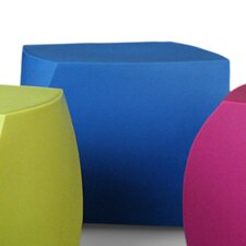 Frank Gehry Left Twist Cube Ottoman by Heller