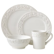 Country Cupboard 4 Piece Place Setting, Service for 1