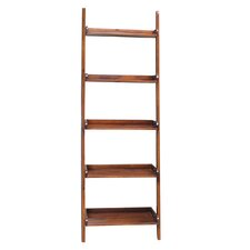 "Casual Dining 75"" Leaning Bookcase"