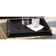 Small Wrapped Handle Serving Tray
