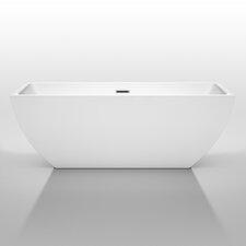 Rachel 67 x 29.5 Soaking Bathtub by Wyndham Collection