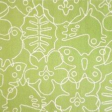 Season Lotus Green/White Area Rug