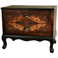 Clair Euro 2 Drawer Cabinet by World Menagerie