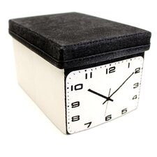 Clock Home Storage Box
