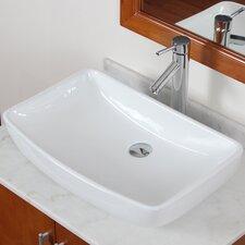 Grade A Ceramic Finsbury Shaped Bowl Vessel Bathroom Sink