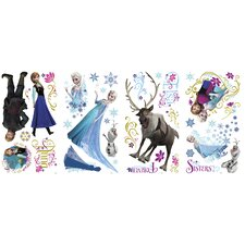 36 Piece Disney Frozen Characters Wall Decal Set