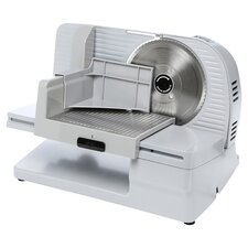 Premium Electric Food Slicer in White