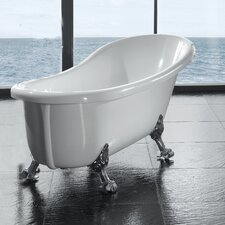 Naples 66 x 21 Clawfoot  Slipper Tub by Ove Decors