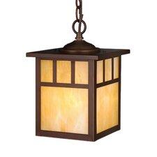 Mission 1-Light Outdoor Hanging lantern